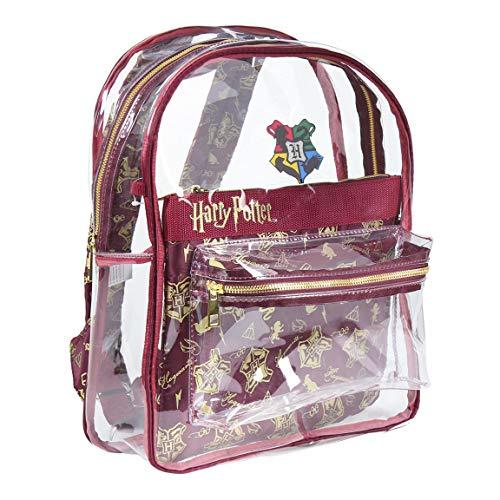 Cerdá - Mochila Transparente Harry Potter Compartimento