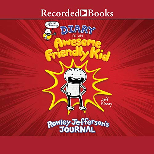 Diary of an Awesome Friendly Kid audiobook cover art