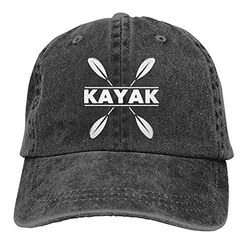 Dyfcnaiehrgrf Kayak Kayak Baseball Caps Adulto Gorra de mezclilla ajustable