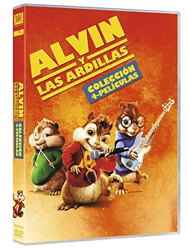 Alvin Y Las Ardillas 1 - 4 (2018) [DVD]