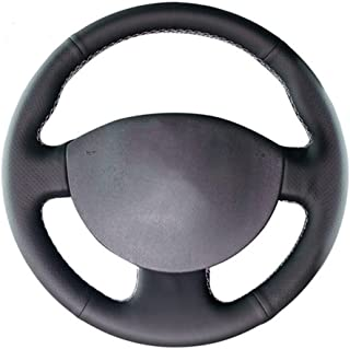 CYBHR handmade Automotive interior Car Steering Wheel Cover,for Renault Megane 2 2003-2008 Kangoo 2008 Scenic 2 2003-2009