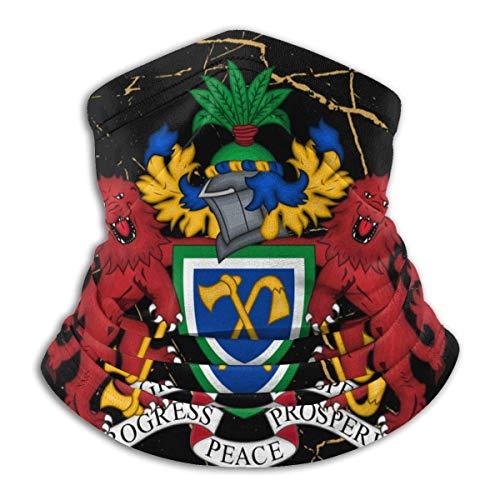 LAKILAN Escudo De Armas De Gambia Sombreros Sin Costuras,Cubierta Facial,Banda Elstica Ultra Suave,Pauelo Deportivo,Diademas para Exteriores