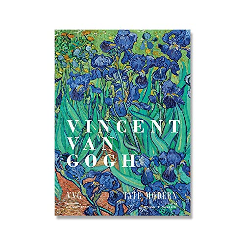 Impresiones de la coleccin de arte Van Gogh, paisajes naturales holandeses, carteles de flores de almendro, cuadros de lienzo de impresin vintage A7 30x45cm