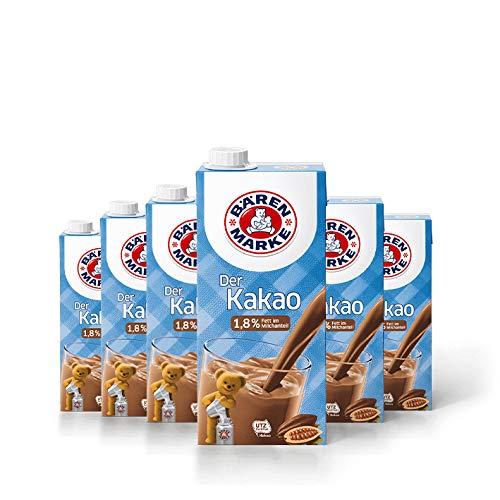 Bärenmarke Kakao, 1,8% Fett, 6er Pack
