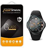 (2 Pack) Supershieldz for TicWatch S2 Tempered Glass Screen Protector, (Full Screen Coverage) Anti Scratch, Bubble Free