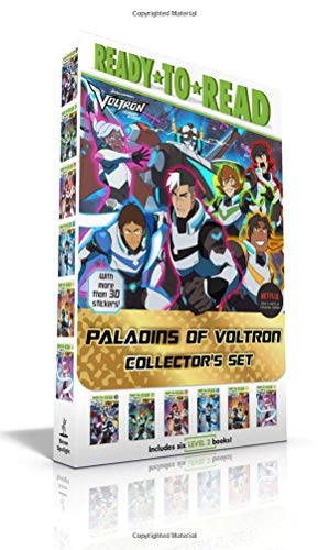Paladins of Voltron Collector's Set: Allura's Story / Keith's Story / Lance's Story / Shiro's Story / Pidge's Story / Hunk's Story