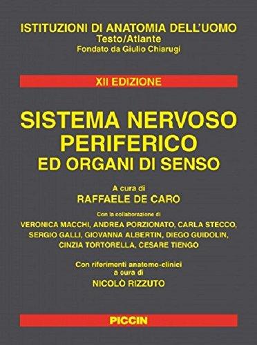 Sistema nervoso periferico ed organi di senso
