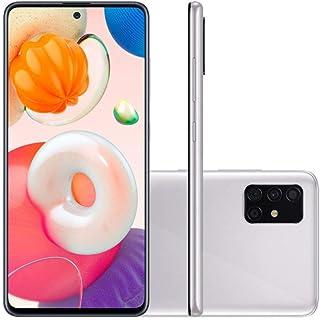 Celular Samsung Galaxy A51 Cinza 128gb 4gb Ram Quádrupla 48mp + 12mp + 5mp + 5mp