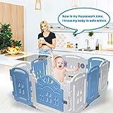 Baby Playpen - Centro de actividades para niños, juego de seguridad en el...