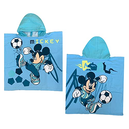 GLOBAL LICENCE SRL Poncho de playa Mickey Mouse Disney Mic1573 -...