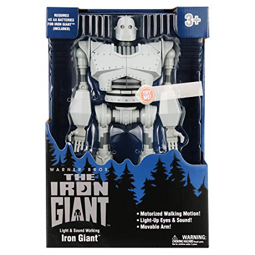 The Iron Giant Warner Bros 14-inch Light and Sound Motorized Walking Iron Giant