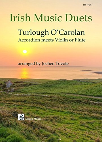 Irish Music Duets: O\' Carolan: Accordion Meets Violin or Flute (Querflöte Noten / Musik für Flöte)