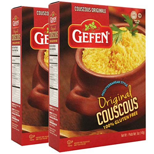 Gefen Gluten Free Israeli Couscous, Original, 5oz (2 Pack) Gluten Free Pasta Alternative