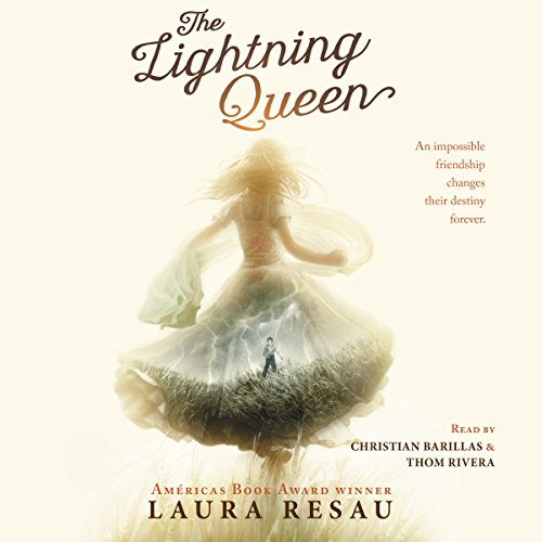 The Lightning Queen audiobook cover art