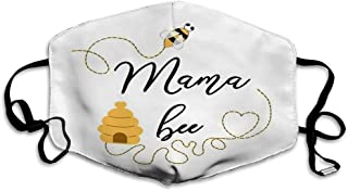 Fashion Activated Carbon Filters mask,Mama Bee Phrase Cute Card Mothers Day Baby Shower Mams Birth,Facial decorations for ...
