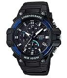 CASIO COLLECTION Herren Analog Quarz Uhr mit Harz Armband MCW-110H-2AVEF