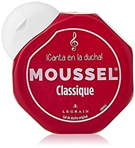 MOUSSEL gel de ducha clásico formato viaje bote 60 ml