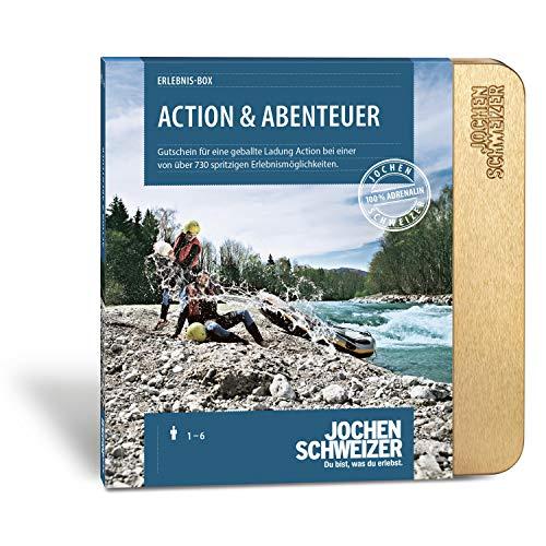 Jochen Schweizer Erlebnis-Box Action & Abenteuer, Erlebnis-Gutschein für Männer und Frauen, mehr als 730 Erlebnisse für 1-2 Personen