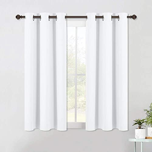 NICETOWN Curtain Panels for Bedroom - Home Decoration Solid Grommet Draperies/Drapes, Not Blackout Window Curtains fo...