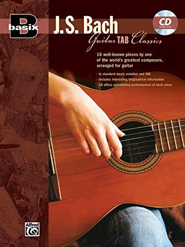 Basix® Guitar TAB Classics: J.S. Bach (incl. CD): Book & Online Audio
