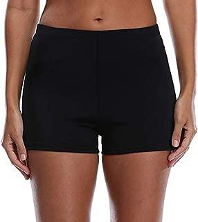 Women's Swim Shorts High Waist Boy Shorts Boardshorts Beach Bikini Tankini Swimwear Boy Leg Bottoms