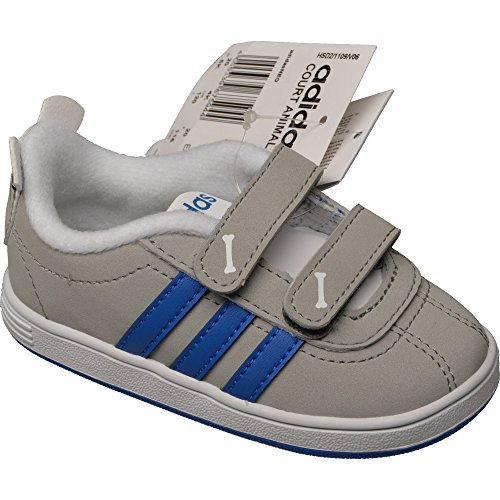 Adidas Court Animal Inf - clonix/blue/lead, Größe Adidas:24