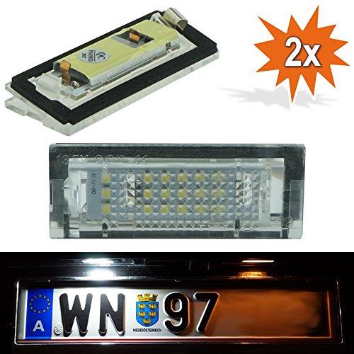 Do!LED A31 LED Kennzeichenbeleuchtung Xenon Weiss mit E Prüfzeichen