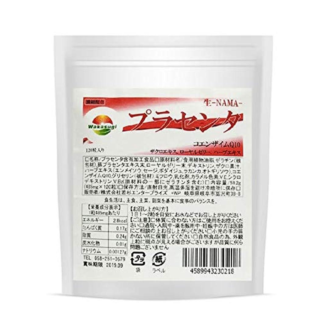 麻痺させるモルヒネフルーツ野菜プラセンタ サプリ お徳用 120粒 約4か月分 濃縮生カプセルタイプ