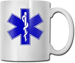 EMT Firefighter Maltese Cross Fashion Coffee Cup Porcelain Mugs