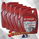 CEPSA Genuine 15W40 5X5L(25Litros)