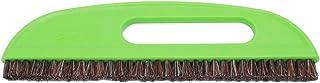 TOPBATHY Trätapet pasta borste häst hår tapet utjämningsborste hängande verktyg med trähandtag för kakel grout rengöring s...