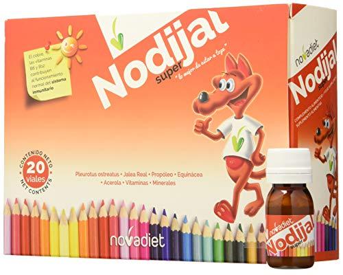 Novadiet Nodijal Super, Jalea Infantil en Viales - 20 Unidades