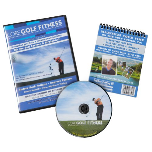 Core Fitness Core Golf Fitness Dvd With On Course Booklet
