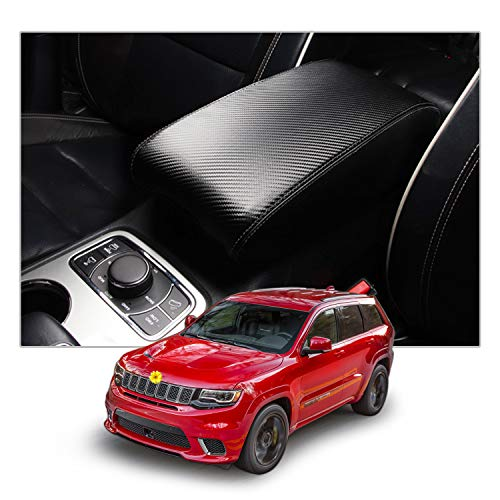 SPEEDWOW Automotive Center Console Armrest Cushion Cover Pad Compatible with 2009-2018 dodge Ram Pick-up SUVs