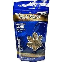 THE REAL MEAT COMPANY 828010 Dog Jerky Lamb Treat, 12-Ounce by The Real Meat Company