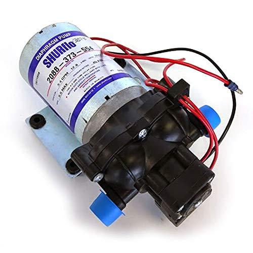 Bomba de Presión de Agua 24V Automática Caudal Máximo: 13,6 l/m - Shurflo 2088-373-554 - Uso Intermitente con presostato para la Automatización