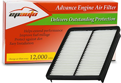 EPAuto GP881 (28113-2P100) Replacement Extra Guard Panel Engine Air Filter