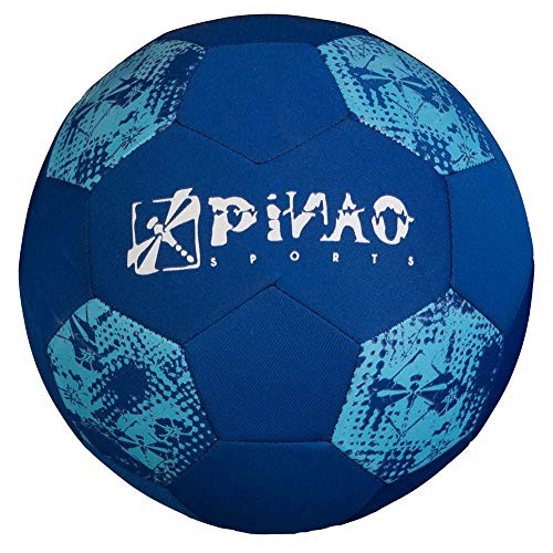 PiNAO Sports - Neopren-Beach-Fußball, Blau, Größe 5 (31012) [Beach, Strand, Fußball, Beach-Soccerball, Spielball]
