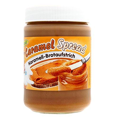 woogie Caramel Spread Karamell Brotaufstrich (400g Glas)