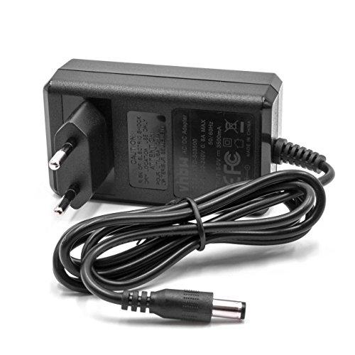 vhbw Chargeur câble d'alimentation Compatible avec Compex FIT 5.0, SP6.0, SP8.0, Wireless électrostimulateur