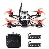 Goolsky EMAX Tinyhawk II Drone de Course 120 km/h FPV Drone Moteur Brushless 7000KV F4 5A ESC Exécutez Cam Nano 2 700TVL 37CH 25/100 / 200mW VTX FPV Quadcopter BNF