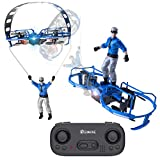 EACHINE Drone Mini Drone pour Enfant E019 Drone Le parachuté avec Deux Ailes Le Mieux Cadeau pour Enfant