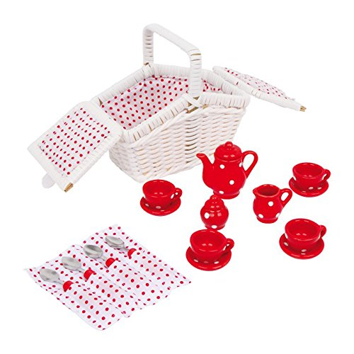 Legler 5315 Picknickkorb Tina, 17-teilig
