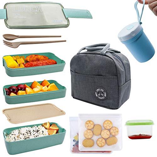 Koccido Bento Box Lunch Box Kit,Japanese Lunch Box...
