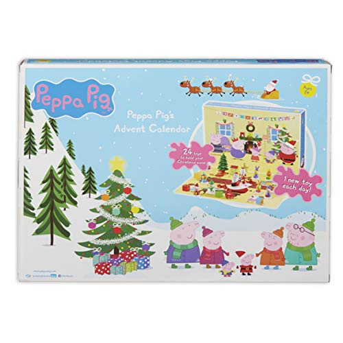 Peppa Pig 07136 Advent Calender Adventskalender, Mehrfarbig