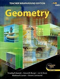 Geometry, Teacher Wraparound Edition, Common Core Edition, 9781328900067, 1328900061, 2018