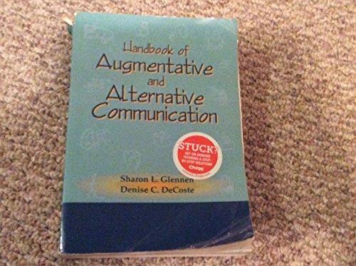 Handbook of Augmentative and Alternative Communication