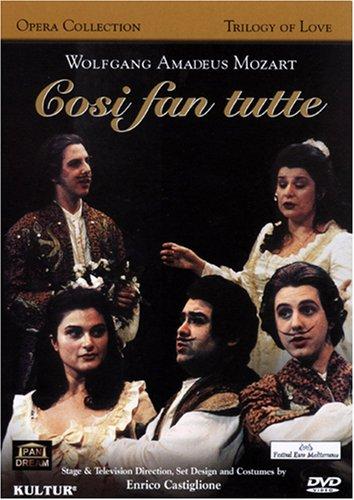 Mozart - Cosi fan Tutte / Gloria Scalchi, Adriana Damato, Riccardo Novaro, Rolando Panerai, Paolo Ponziano Ciardi, Rome Opera