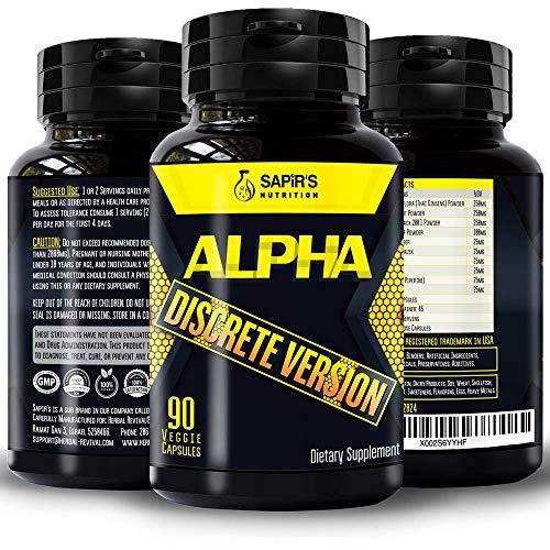 Alpha Ultimate Male Support for Endurance, Energy & Stamina Pills for Men Enlargement 2 inch in 60 Days Muscle Enlargement Pills for Men 90 Capsules