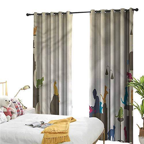 Bonamaison Funda de cojín Decorativa, poliéster, Multicolor, 35 x 50 cm